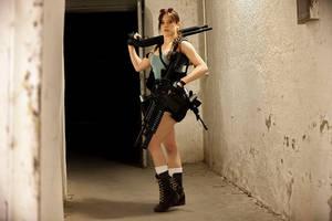 Lara Croft - Overkill 03 by ImeldaCroft