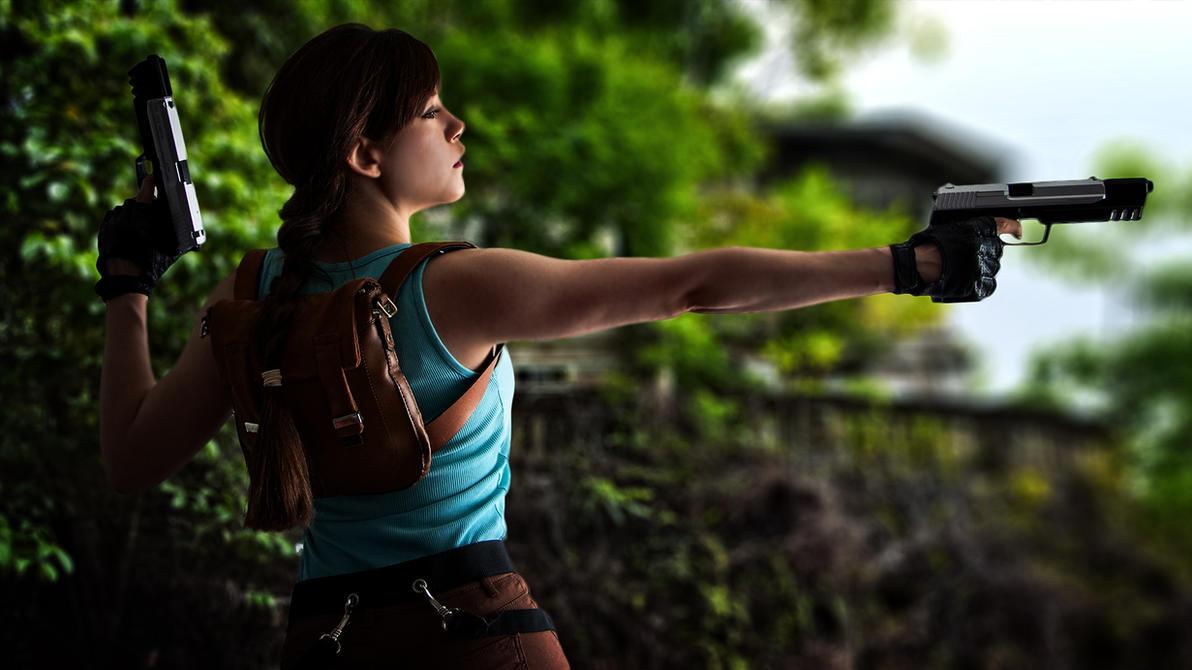 Lara Croft - Tomb Raider Anniversary - 01 by ImeldaCroft