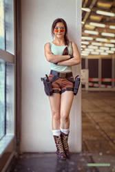 Lara Croft - Classic 09 by ImeldaCroft