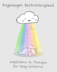 Regenbogen Bestrahlungsbad Therapie