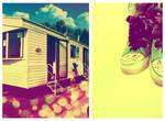 Converse+Caravans by ToniTurtle