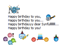 Happy B-Day Song to Synfull by mackwrites