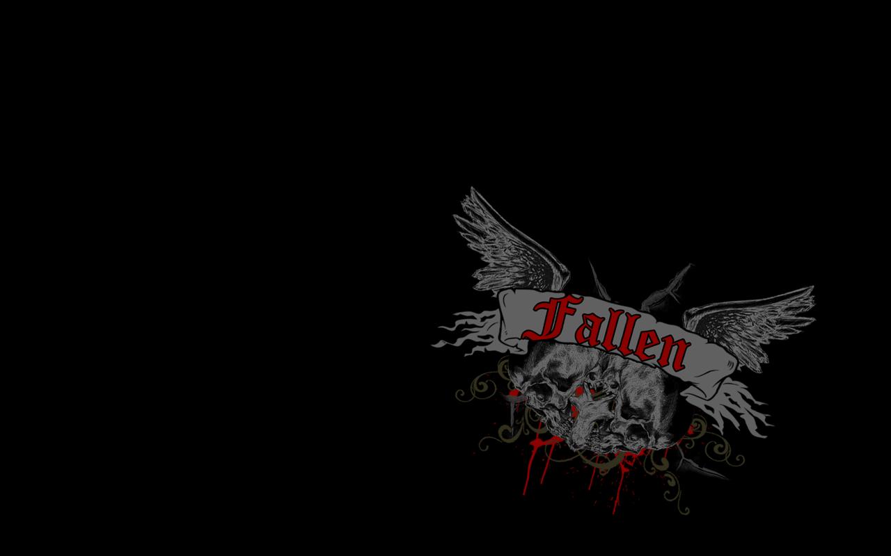 fallen-wallpaper by rave666 on DeviantArt Fallen Shoes Logo Wallpaper
