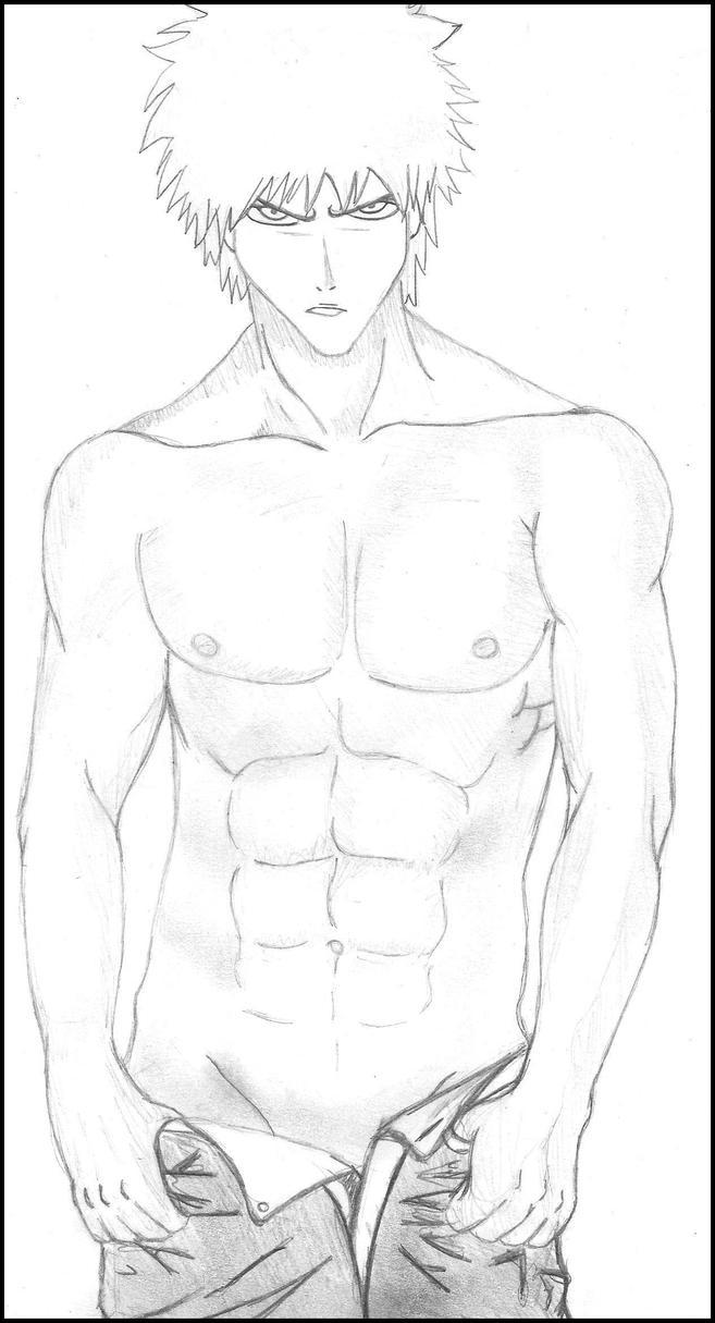 Sexy Kurosaki Ichigo by JoeRenegade