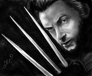 Wolverine by AnastasiumArt