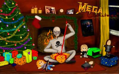 Megadeth xmas card by AnastasiumArt