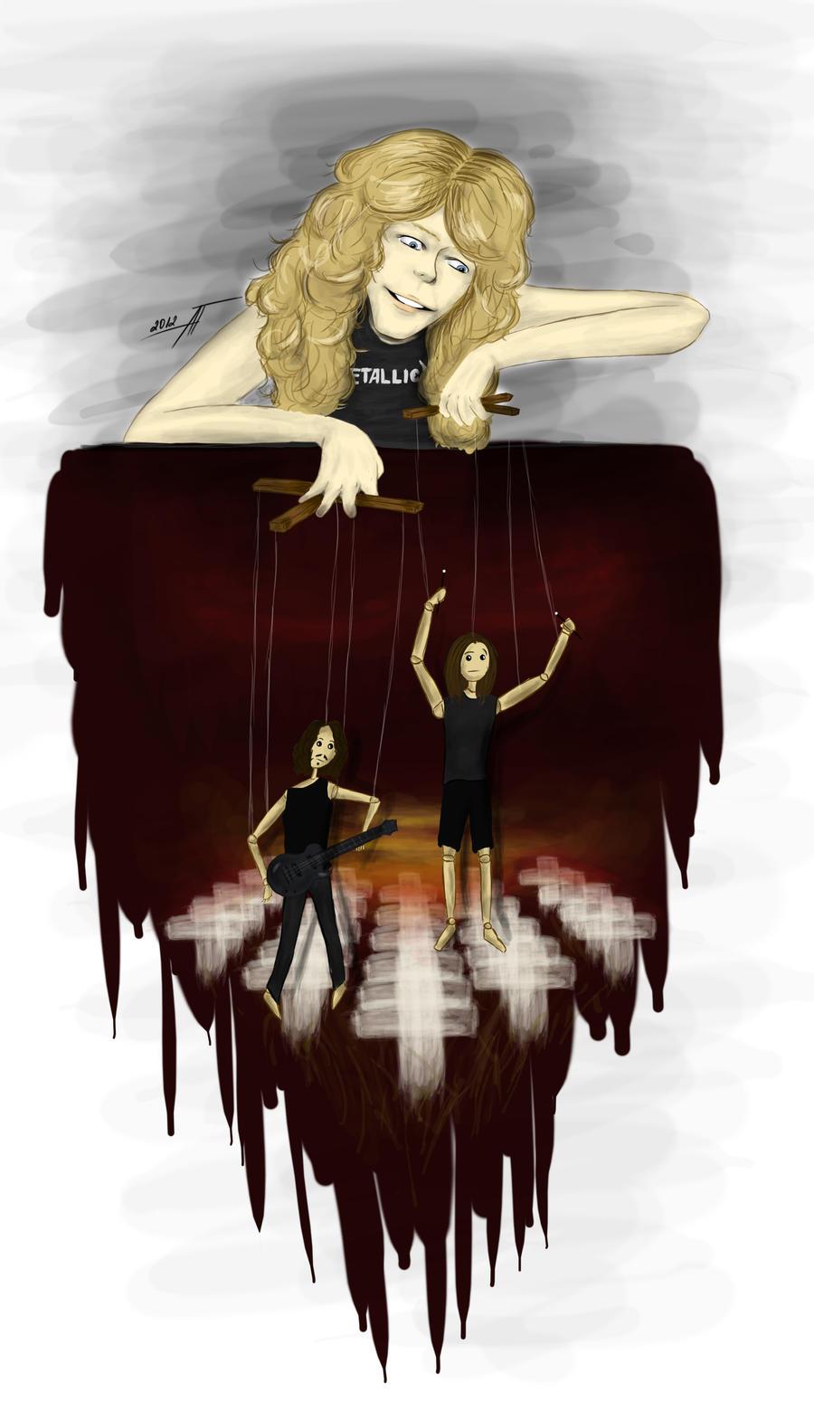 Master Of Puppets By AnastasiumArtdeviantart On DeviantArt
