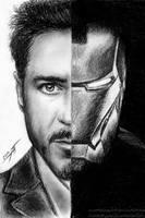 Iron Man by AnastasiumArt