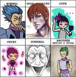 Hisoka Style Meme