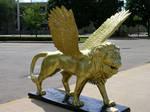 7. Flying Lion