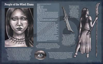 People of the Wind: Etana by Liennepien