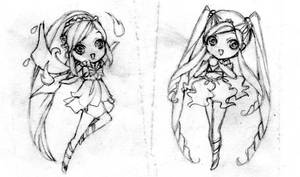 Incomplete Winx Chibis by ButterflyWingies