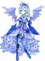 MLP: Princess Luna by ButterflyWingies