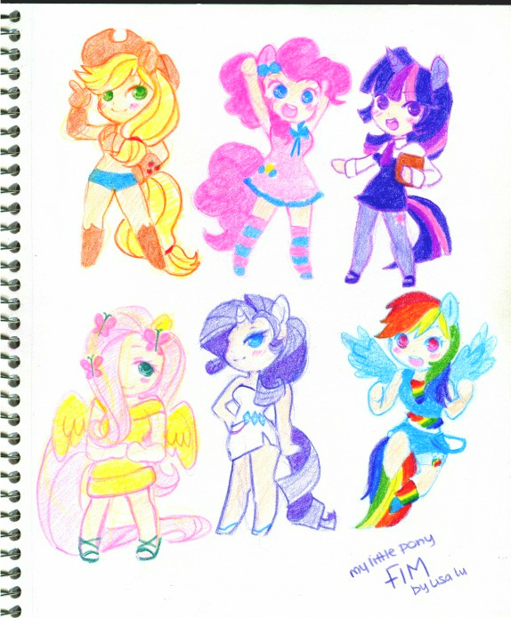 My Little Pony Fim by ButterflyWingies