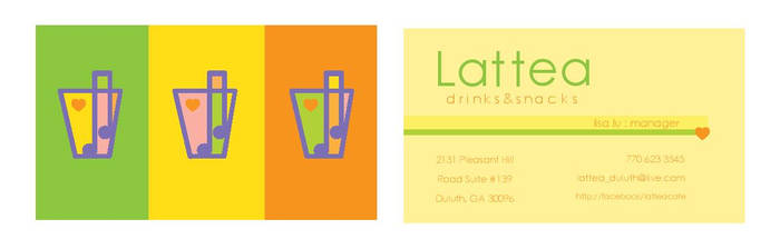 Business Card (front and back)