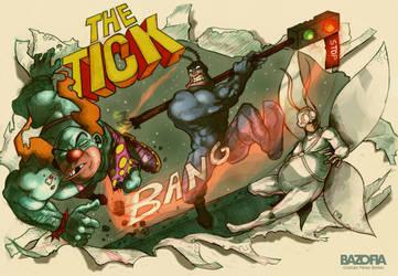 the tick fanart by crispawn