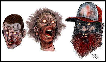 gente zombisada colores by crispawn