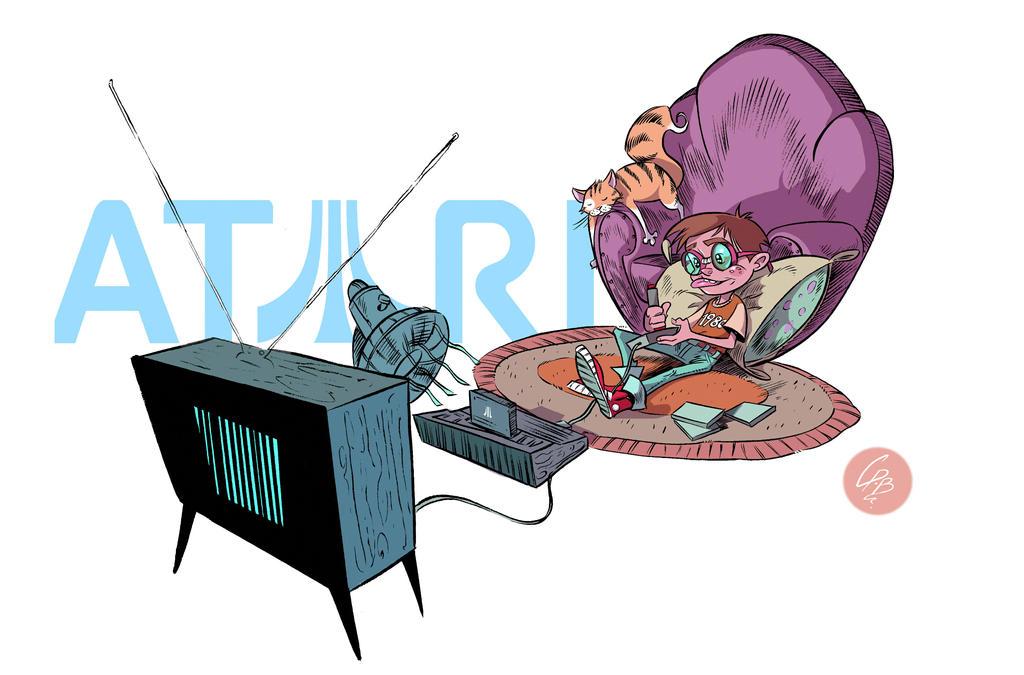 RETRO GAMER by crispawn