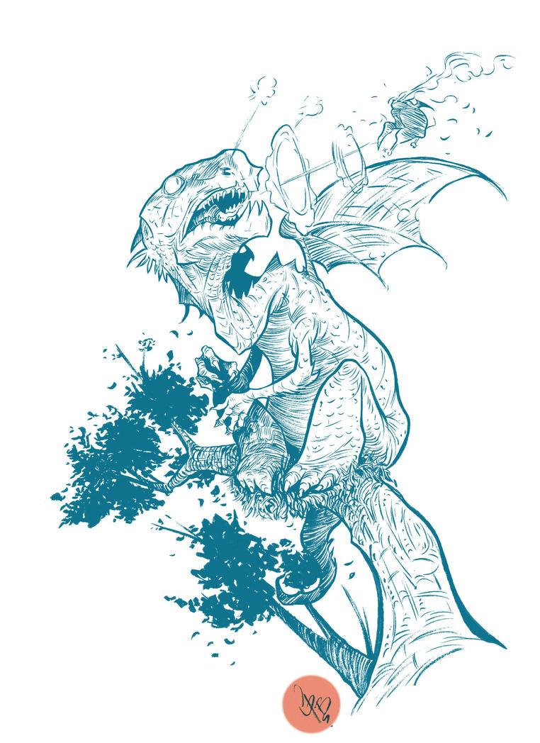 dragon wn pesao by crispawn