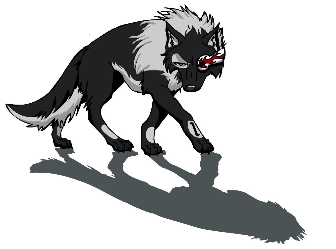 Stark wolf by Vick-wolf