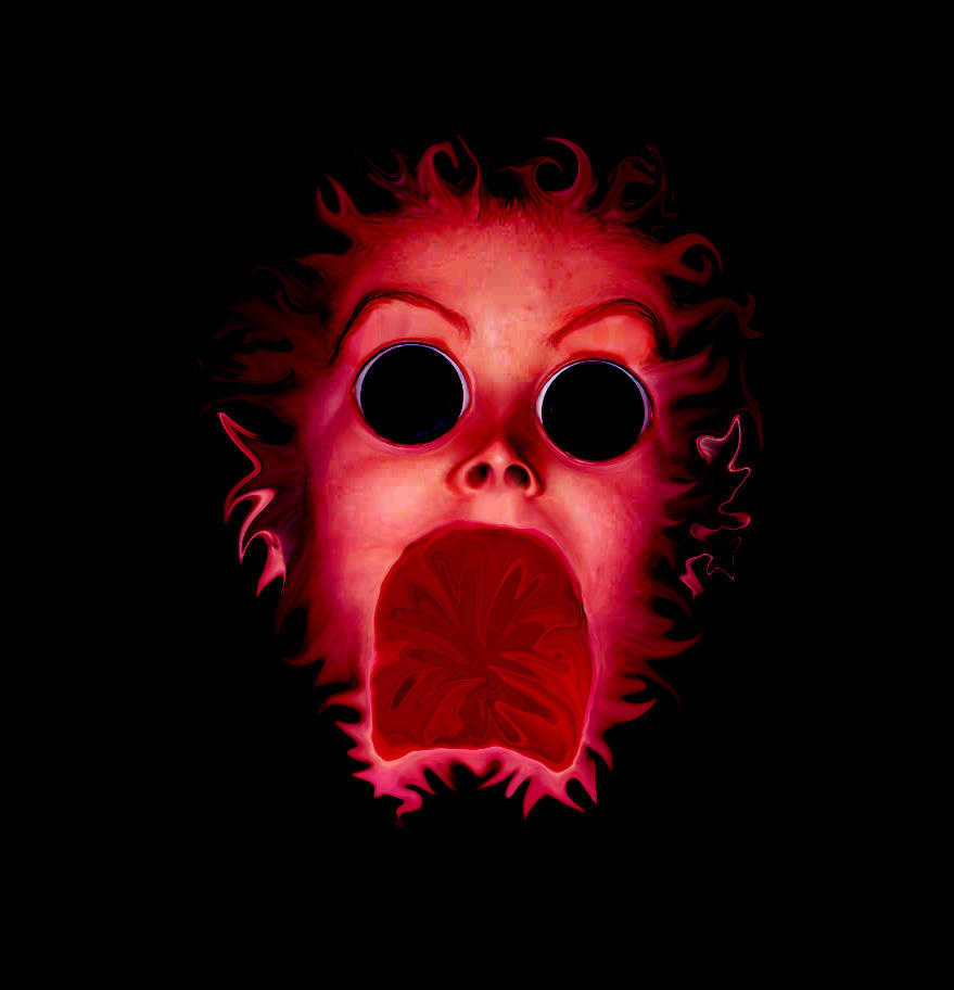 fiery horror by sc4mp1 on DeviantArt