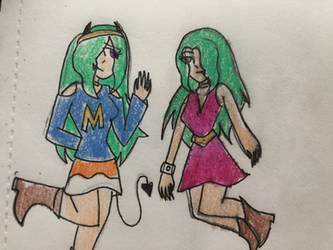 Meggy and Marina by ShyLittleSnowBunny