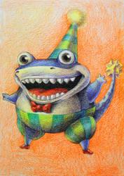Sharky Blobbo Sharkerson by Ninjerina