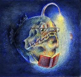 Nightlight for Mr. Angler by Ninjerina