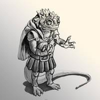 Lizard Guard by Ninjerina