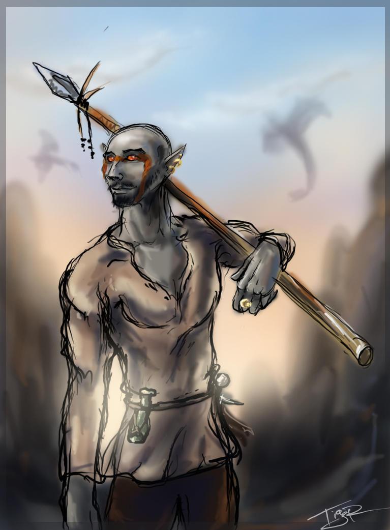 Morrowind: Ashlands by Ti-R