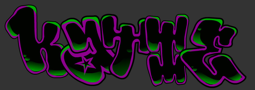 Katie's Graffiti'd Name 2 by Brassfan on DeviantArt