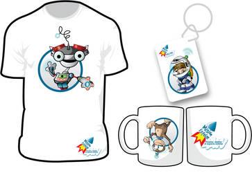 Mascot design by soyjorgito