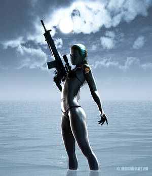Sniper Wolf - Pin-up