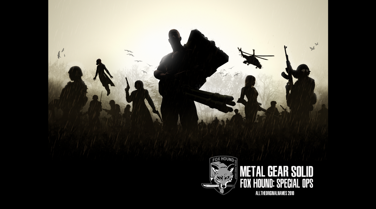 METAL GEAR SOLID: FOX HOUND Wallpaper by alltheoriginalnames