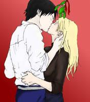 A Christmas Kiss by EveMonsta