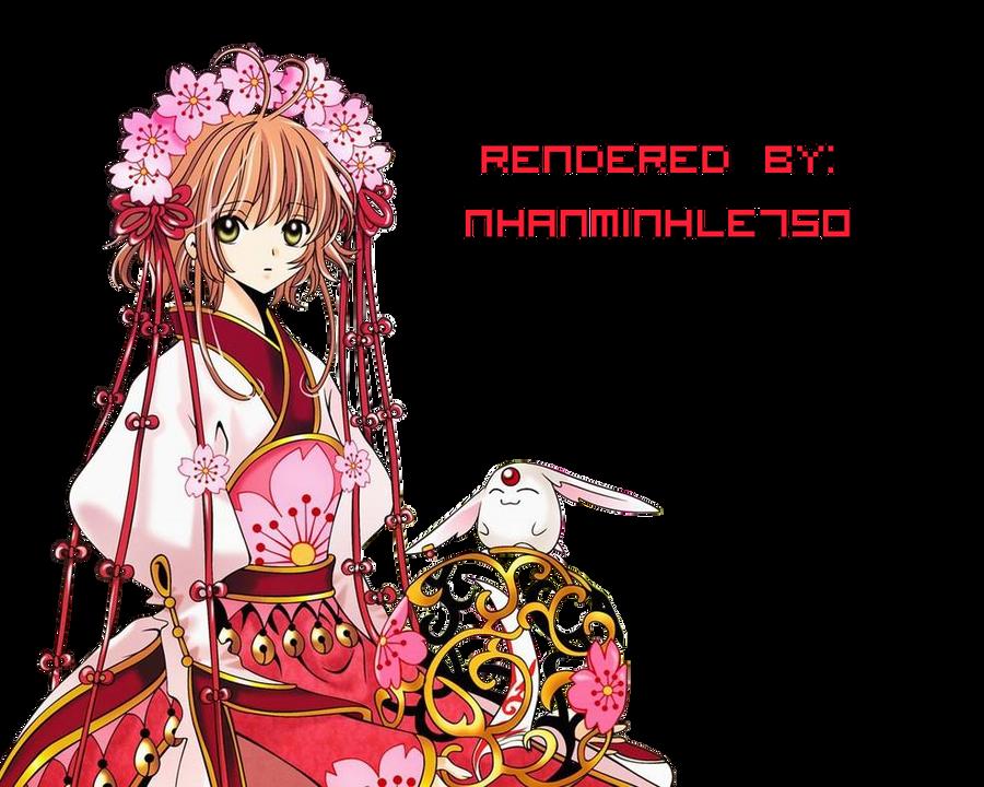 [Render #043]-Sakura Tsubasa by KotoriKawaii750