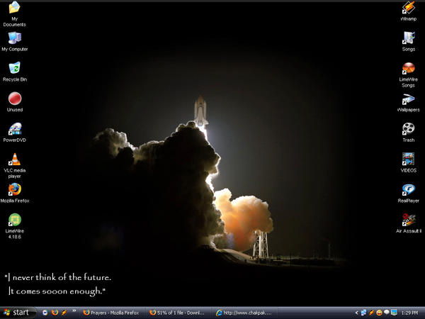 Nasa Launch Desktop by julianx8