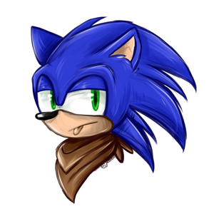 Sonic doodle thing