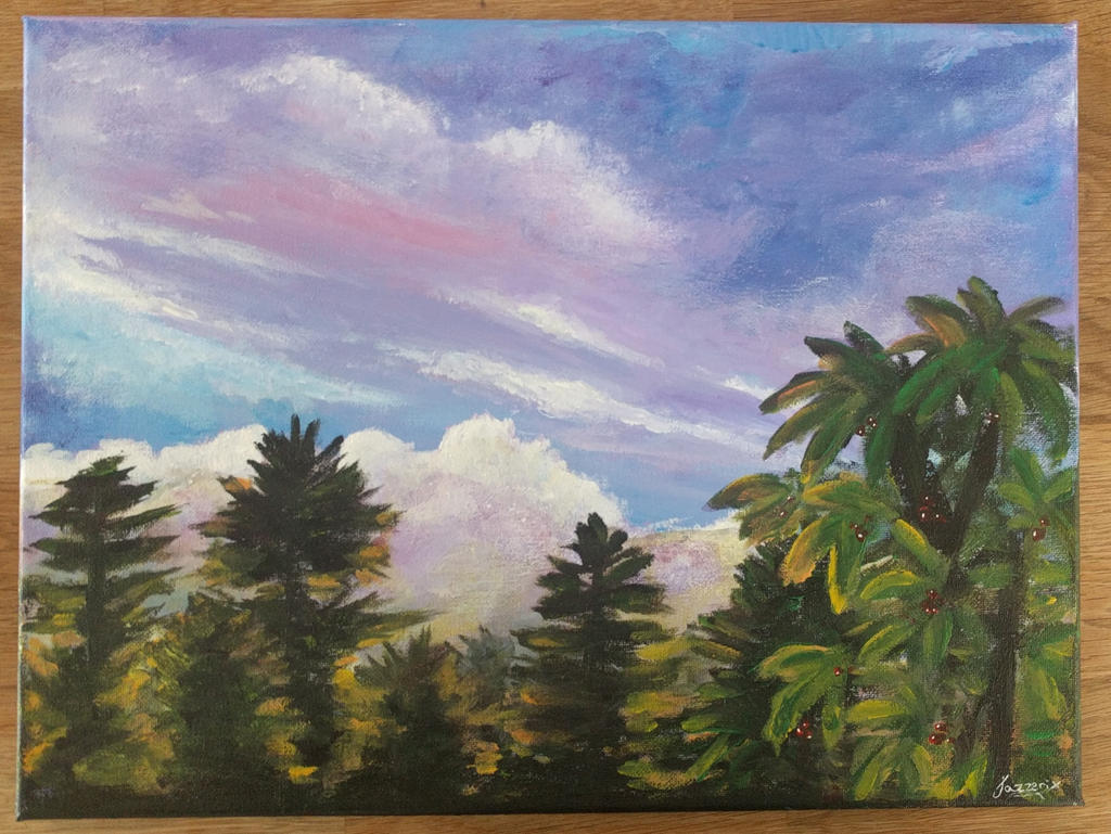 Purple Sunset by Jazzerix