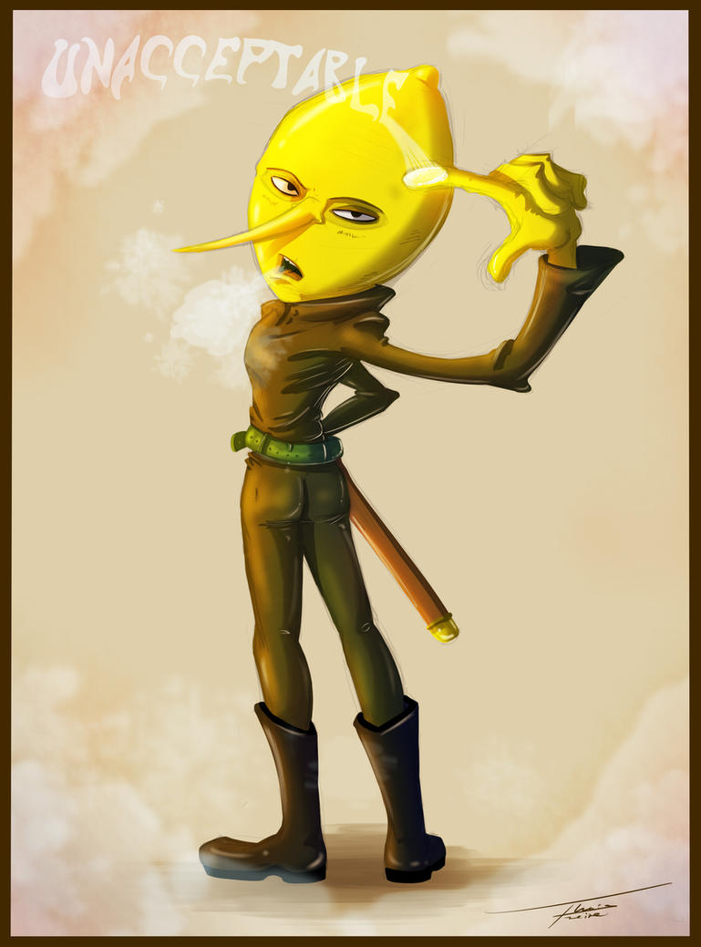 Earl Lemon Grab by Pimander1446
