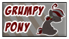 Grumpy Pony Stamp by Pimander1446