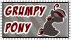Grumpy Pony Stamp by Pimander1446