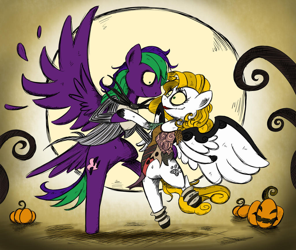Halloween Commission - Dance with me by Pimander1446