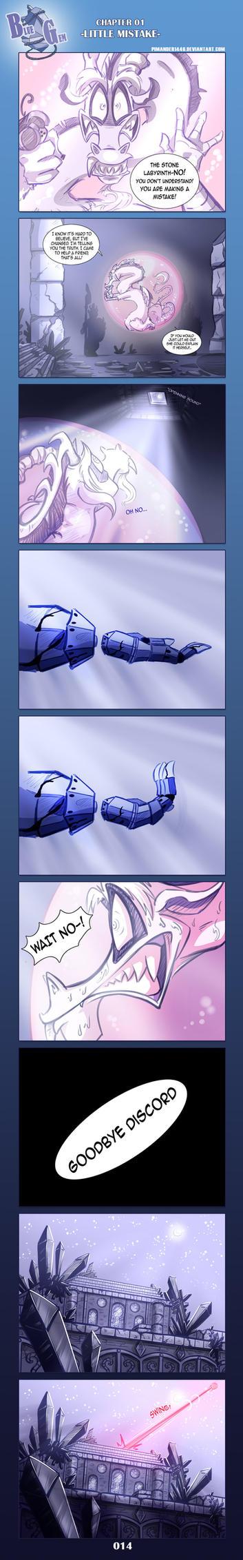 BlueGem COMIC -- Page 014 by Pimander1446