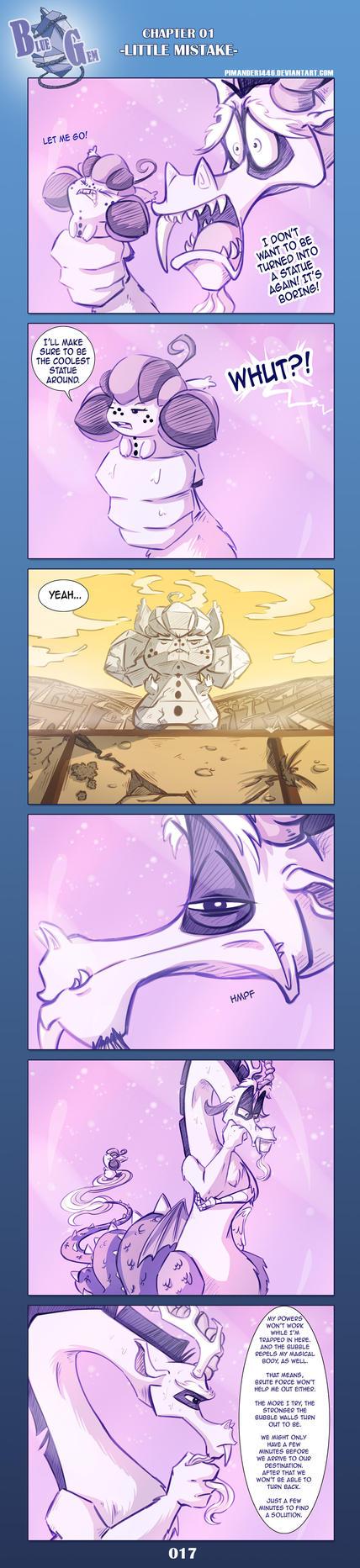 BlueGem COMIC -- Page 017 by Pimander1446