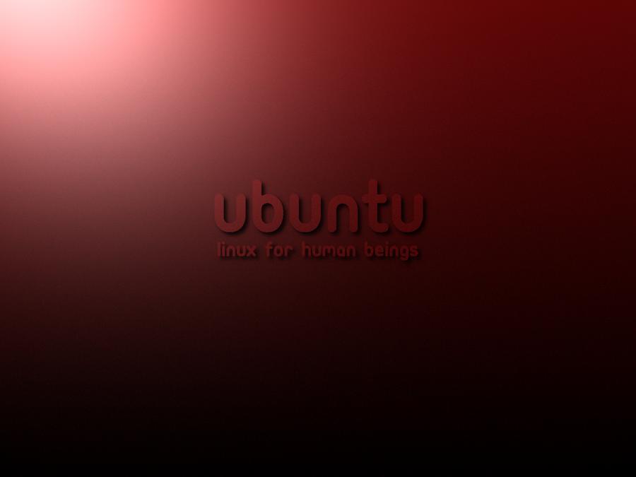 ubuntu dark red