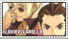 Klavier and Apollo Stamp by oh-mi-gawd
