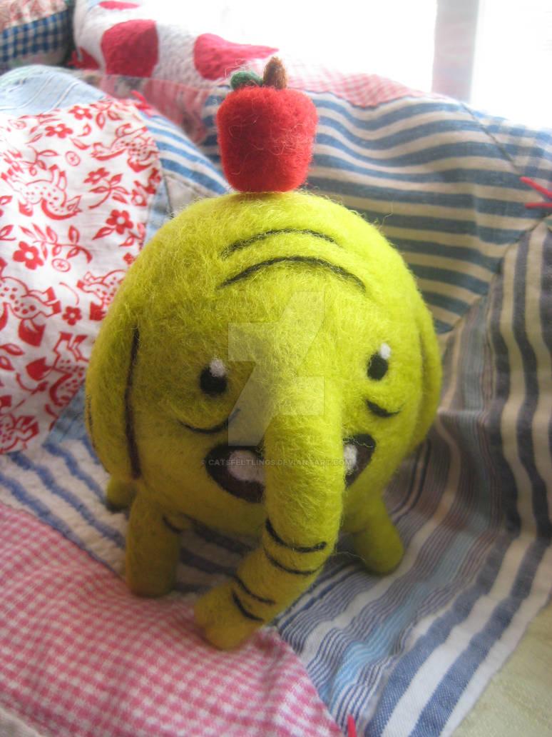 Ooak Needle Felted Plush Doll Tree Trunks By Catsfeltlings On Deviantart