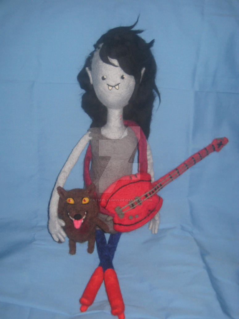 My Needle Felted Marceline -- Go With Me by CatsFeltLings