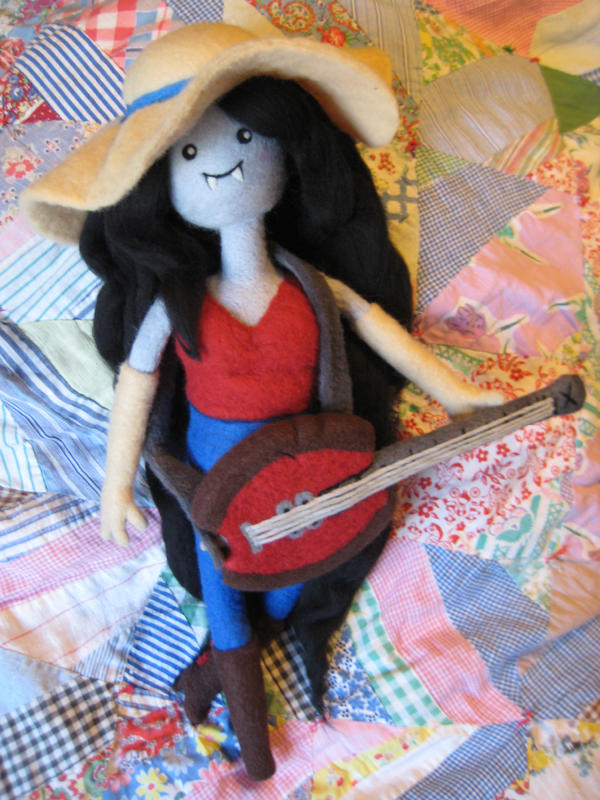 My Needle Felted Marceline - What Was Missing by CatsFeltLings